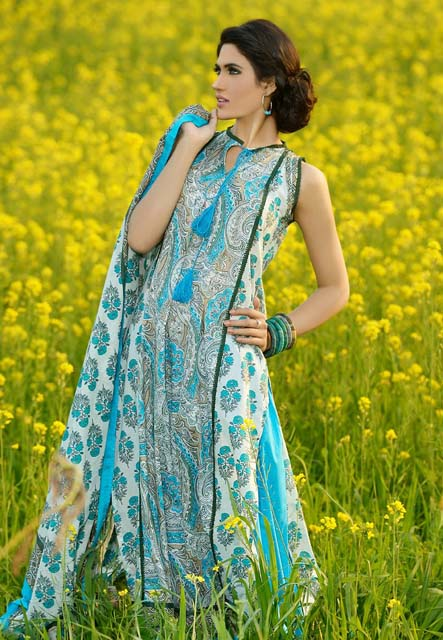 Khaadi Lawn Chintz Collection 2013 (10)
