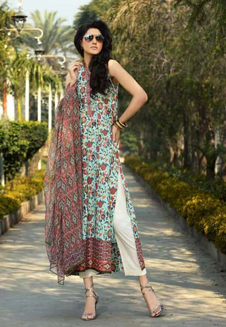 Khaadi Lawn Chintz Collection 2013 (18)