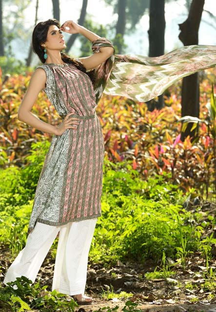 Khaadi Lawn Chintz Collection 2013 (2)