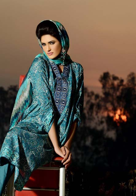 Khaadi Lawn Chintz Collection 2013 (5)