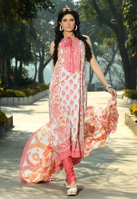 Khaadi Lawn Chintz Collection 2013