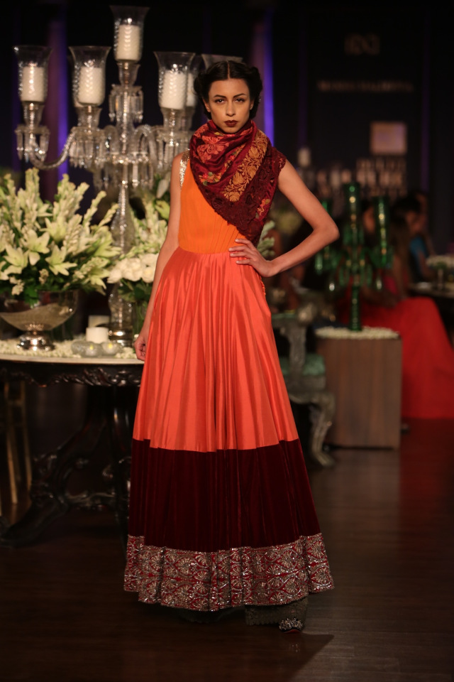 Manish Malhotra collection at the PCJ Delhi Couture week 2013 7