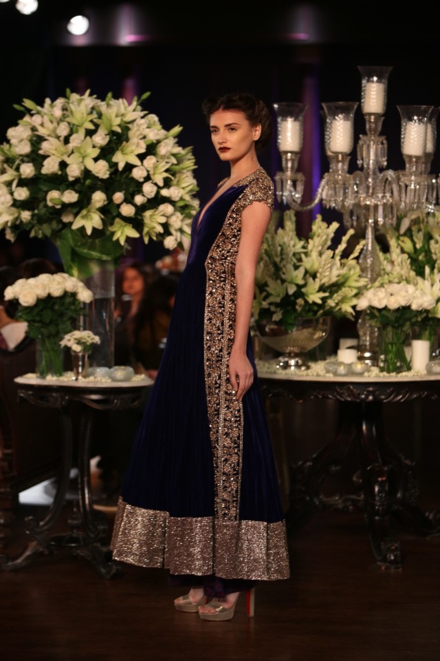 Manish Malhotra collection at the PCJ Delhi Couture week 2013 9