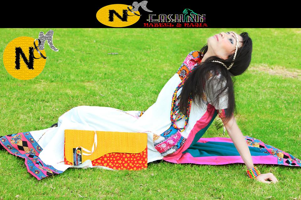Nabeel and Najia  Eid Dress Collection 7