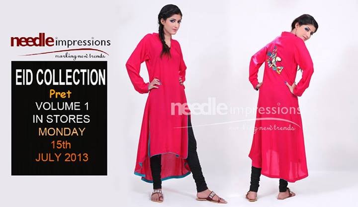 Needle Impressions Pret Collection 2013 For Eid 1