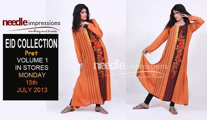 Needle Impressions Pret Collection 2013 For Eid 2