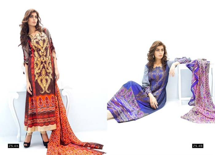 Nivali Eid Collection By ZS Textiles 1