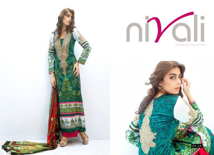 Nivali Eid Collection By ZS Textiles 5