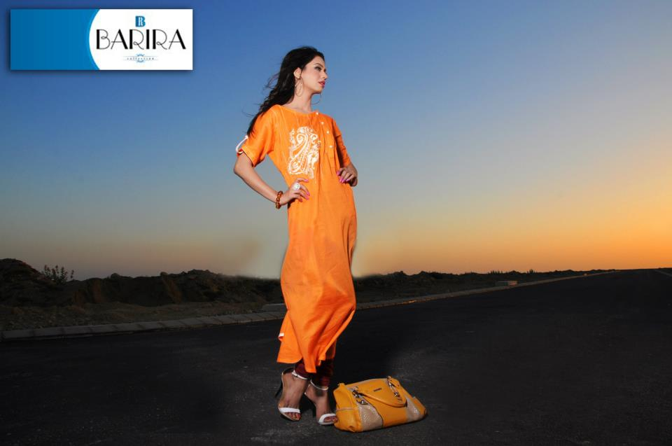Orange Barira Dress Collection