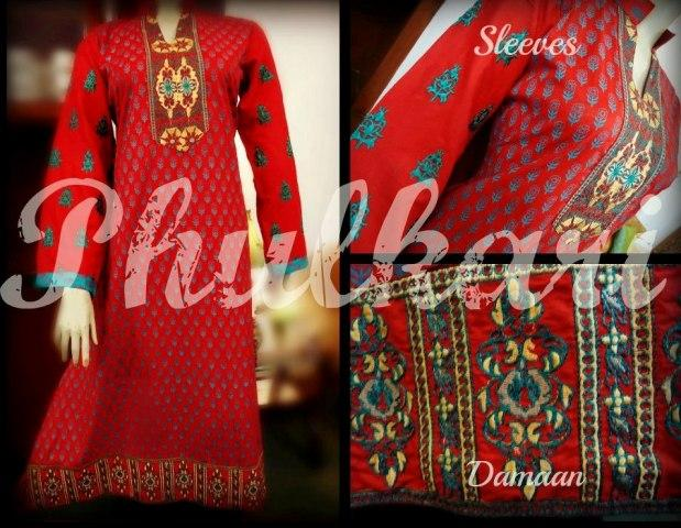 Phukari Spring Collection 2013 For Ladies