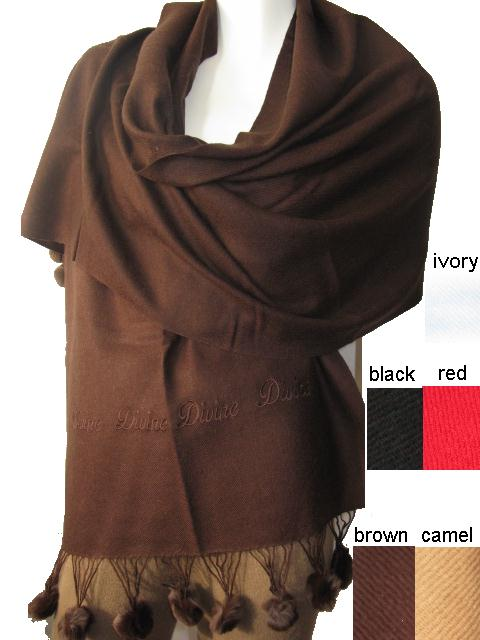 Ready wool pashmina shawl