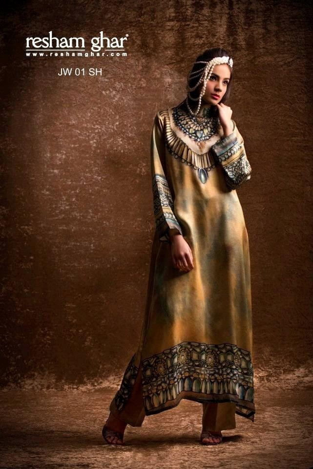 Resham Ghar eid wear collection 2013 (2)