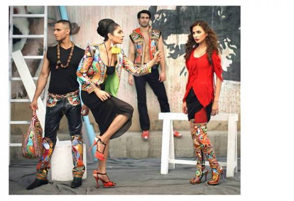 Rizwan Beyg Truck Art Diva magazine Summer Collection 2013 1