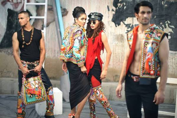 Rizwan Beyg Truck Art Diva magazine Summer Collection 2013