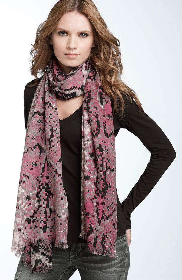 Tie Long Winter Scarf 2