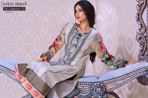 Zahra Ahmad Eid Range 2013 Volume 2 for Women 1