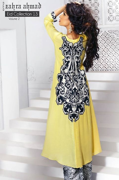 Zahra Ahmad Eid Range 2013 Volume 2 for Women 4