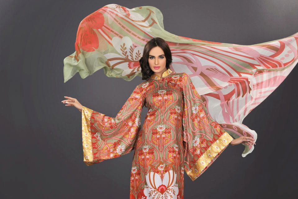 beautiful dress by bThe World Of HSY PrintsSummer 2013