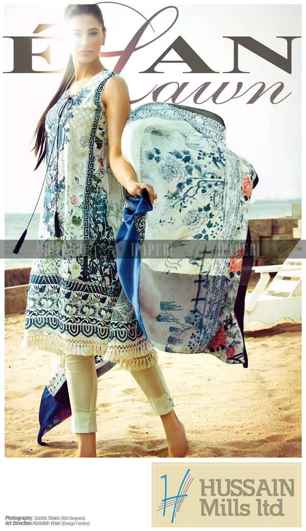 bleu Elan Lawn dress