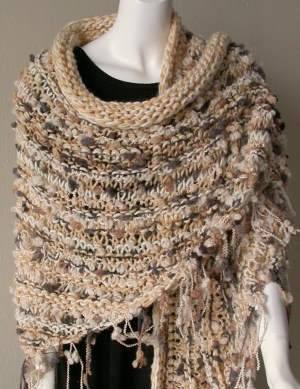 knitted shawl 2