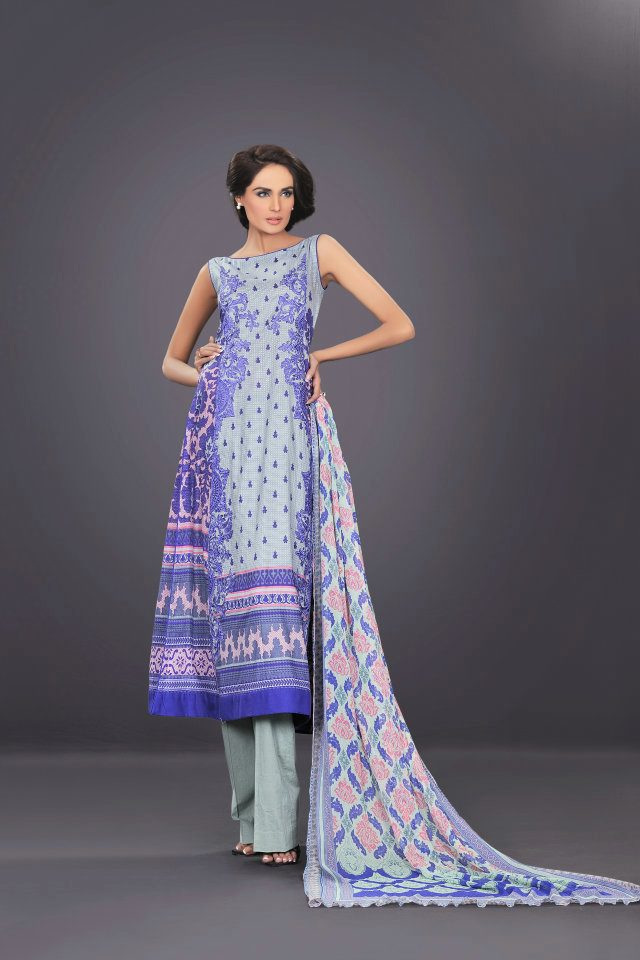 light purple dress by The World Of HSY PrintsSummer 2013