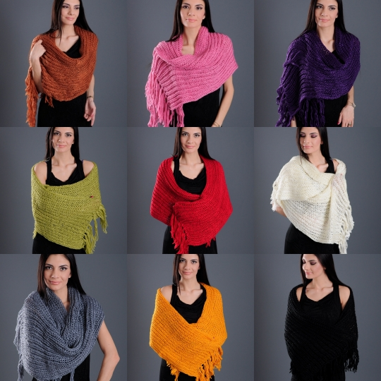 red shawl suppliers