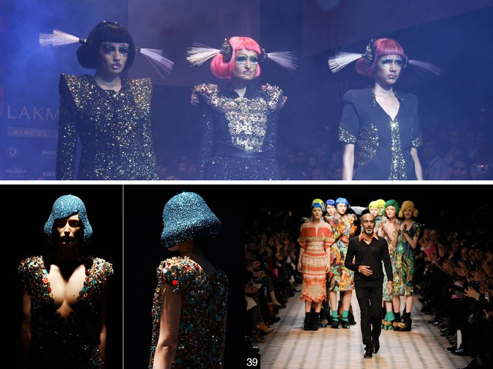 top and short wear by Manish Arora lakme fashion week (4)